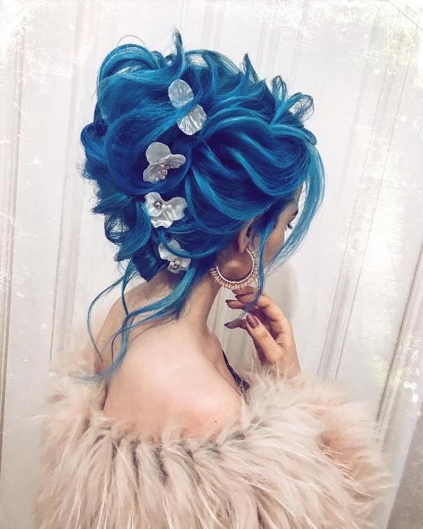 Mavi Gelin Başı
