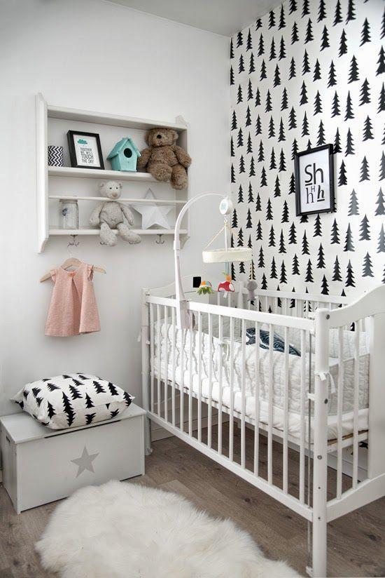 İskandinav Tarzı Bebek Odası Fikirleri