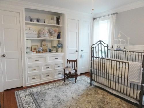 Vintage Bebek Odası Fikirleri
